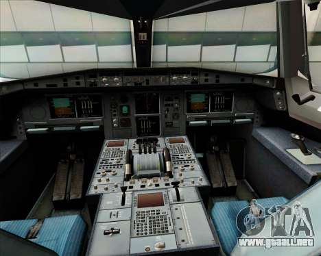 Airbus A380-800 Japan Airlines (JAL) para GTA San Andreas interior
