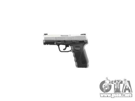 Pistola Taurus 24-7 titanio icon2 para GTA 4 tercera pantalla
