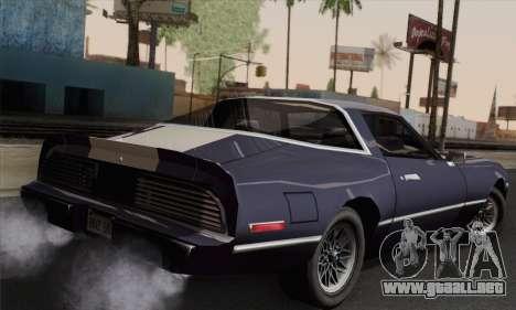 New Phoenix para GTA San Andreas left