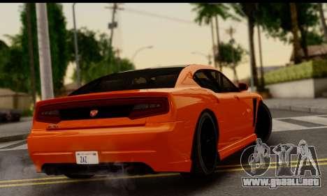 Bravado Buffalo S (HQLM) para GTA San Andreas left