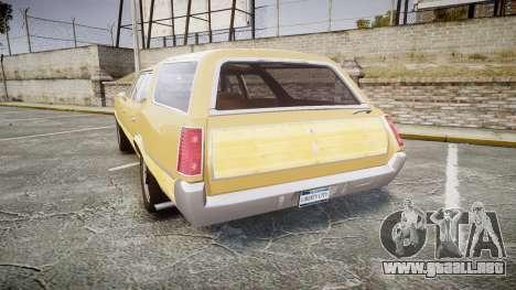 Oldsmobile Vista Cruiser 1972 Rims1 Tree5 para GTA 4 Vista posterior izquierda