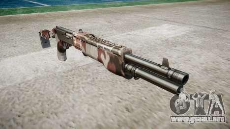 Ружье Franchi SPAS-12 Inyectados de sangre. para GTA 4