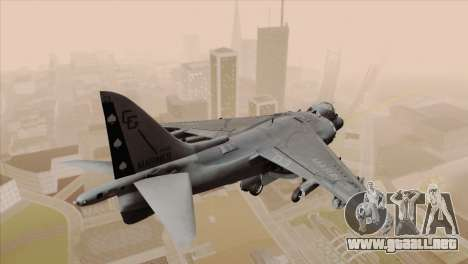 EMB AV-8 Harrier II USA NAVY para GTA San Andreas left