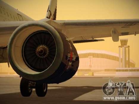 Airbus A321-232 jetBlue I love Blue York para GTA San Andreas