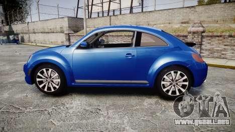 Volkswagen Beetle A5 Fusca para GTA 4 left