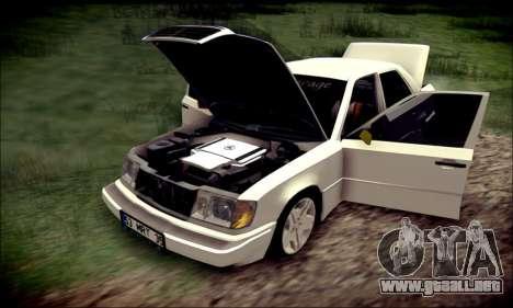 Mercedes-Benz E320 Delta Garage para visión interna GTA San Andreas