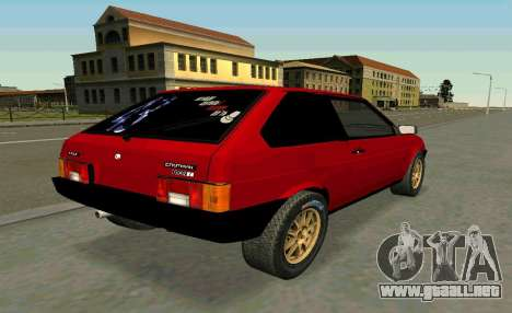 VAZ 2108 Turbo-AZÚCAR para GTA San Andreas left