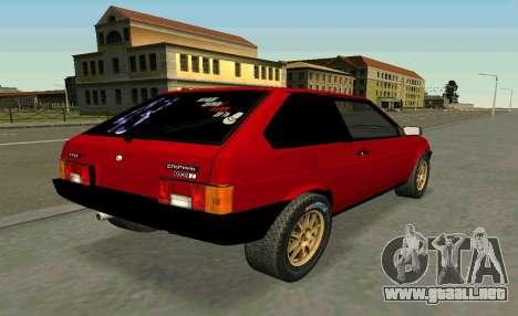 VAZ 2108 Turbo-AZÚCAR para GTA San Andreas left