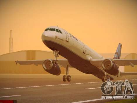 Airbus A321-232 jetBlue Do-be-do-be-blue para GTA San Andreas