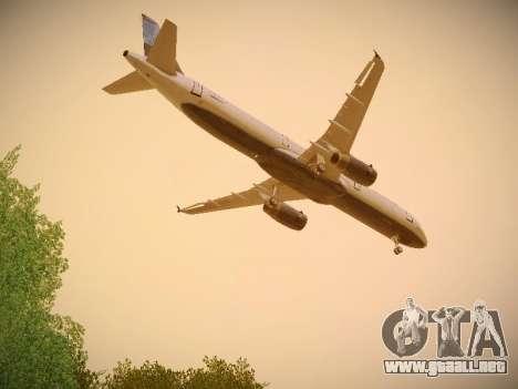 Airbus A321-232 jetBlue Do-be-do-be-blue para visión interna GTA San Andreas