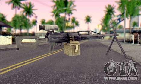 Panel de Control Pecheneg (ArmA 2) para GTA San Andreas segunda pantalla