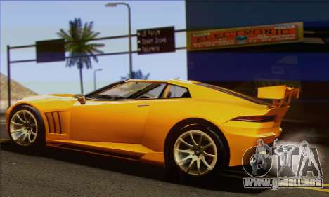 Invetero Coquette para GTA San Andreas left