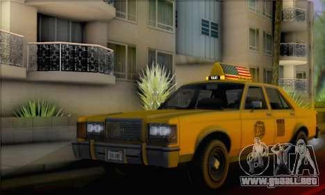 Willard Marbelle Taxi Saints Row Style para GTA San Andreas