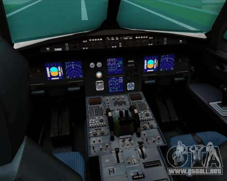 Airbus A321-200 US Airways para GTA San Andreas interior