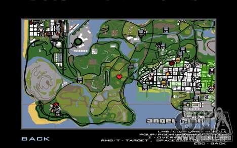 Nueva casa de CJ en Angel Pine para GTA San Andreas quinta pantalla