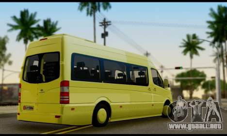 Mercedes-Benz Sprinter Eyüp Caducado para GTA San Andreas left
