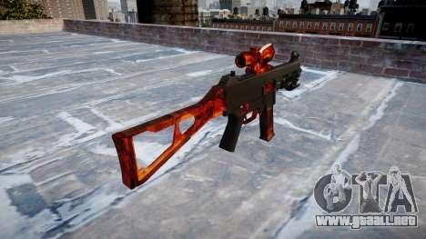 Pistola de UMP45 Bacon para GTA 4 segundos de pantalla