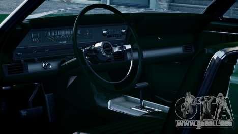 Ford Fairlane 500 1966 para GTA 4 visión correcta