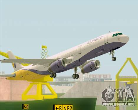 Airbus A321-200 Monarch Airlines para GTA San Andreas