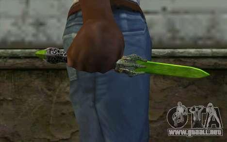 Glass Dagger para GTA San Andreas tercera pantalla