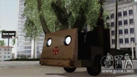 Umbrella Cart para GTA San Andreas