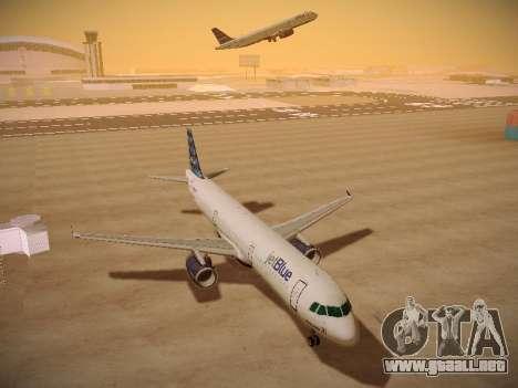 Airbus A321-232 jetBlue Airways para visión interna GTA San Andreas