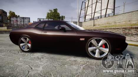 Dodge Challenger SRT8 para GTA 4 left