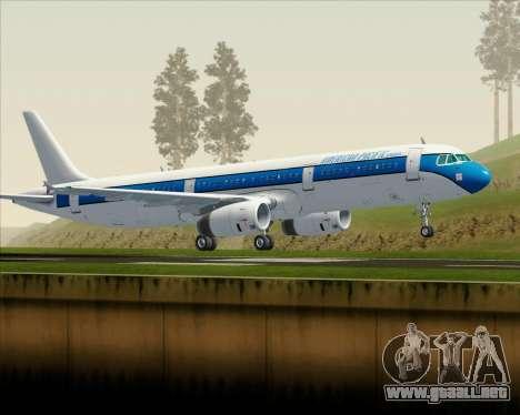 Airbus A321-200 American Pacific Airways para GTA San Andreas left