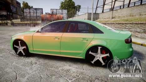 Audi S4 2010 FF Edition para GTA 4 left