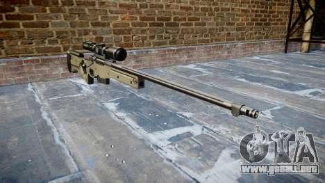 Sniper rifle L96A1 Magnum para GTA 4