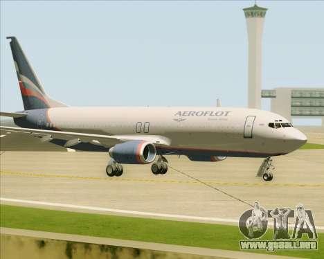 Boeing 737-8LJ Aeroflot - Russian Airlines para visión interna GTA San Andreas