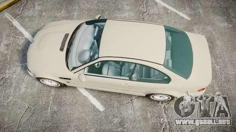 BMW M3 E46 2001 Tuned Wheel White para GTA 4 visión correcta