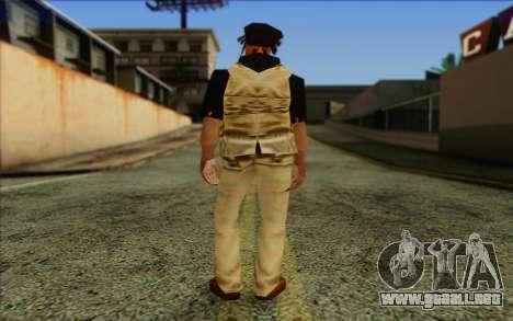 Yardies from GTA Vice City Skin 2 para GTA San Andreas segunda pantalla