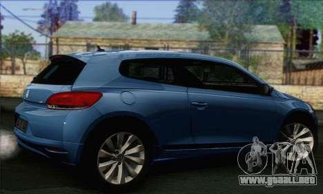 Volkswagen Scirocco 2011 para GTA San Andreas left