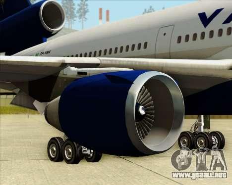 McDonnell Douglas DC-10-30 VARIG para las ruedas de GTA San Andreas