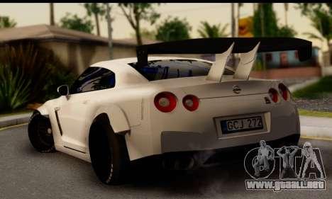 Nissan GTR Tuning para GTA San Andreas left