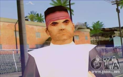 Cuban from GTA Vice City Skin 2 para GTA San Andreas tercera pantalla