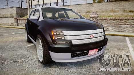 GTA V Vapid Radius para GTA 4