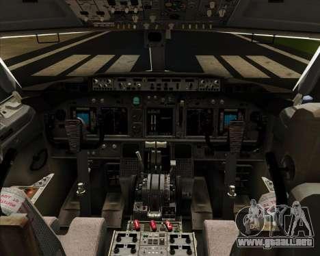 Boeing 737-8LJ Aeroflot - Russian Airlines para GTA San Andreas interior