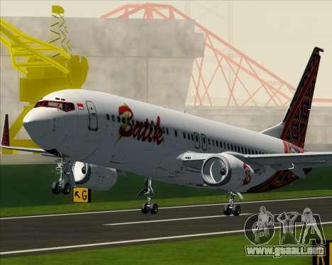 Boeing 737-800 Batik Air para las ruedas de GTA San Andreas