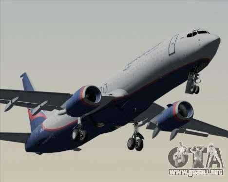 Boeing 737-8LJ Aeroflot - Russian Airlines para el motor de GTA San Andreas