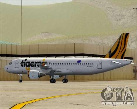 Airbus A320-200 Tigerair Australia para el motor de GTA San Andreas