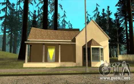 Nueva casa de CJ en Angel Pine para GTA San Andreas tercera pantalla