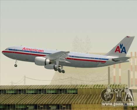 Airbus A300-600 American Airlines para GTA San Andreas