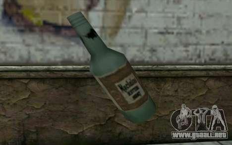 Una botella de cerveza para GTA San Andreas segunda pantalla