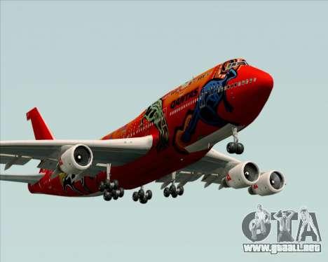 Boeing 747-400ER Qantas (Wunala Dreaming) para el motor de GTA San Andreas
