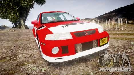 Mitsubishi Lancer Evolution VI Rally Marlboro para GTA 4