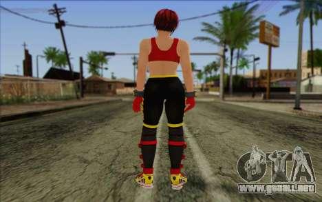 Mila 2Wave from Dead or Alive v7 para GTA San Andreas segunda pantalla
