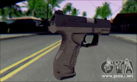 Walther P99 Bump Mapping v1 para GTA San Andreas segunda pantalla