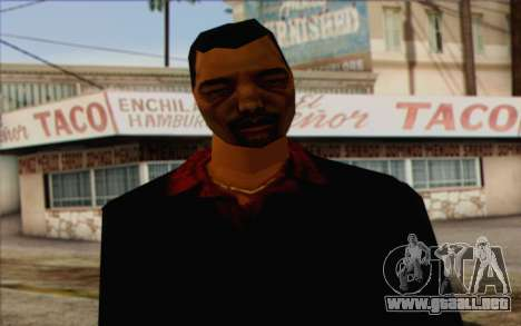 Yakuza from GTA Vice City Skin 1 para GTA San Andreas tercera pantalla